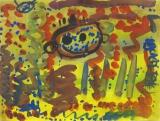 楊鎮威繪畫作品《神童》
