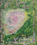 楊鎮威繪畫作品《關公》