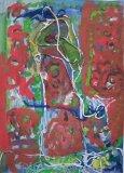 楊鎮威繪畫作品《關月》