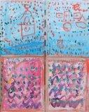 楊鎮威繪畫作品《關月灣》