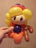 吳國基氣球作品《小女巫》