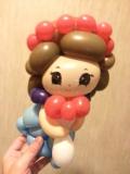 吳國基氣球作品《小女僕》