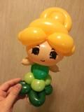 吳國基氣球作品《公主》
