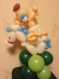 吳國基氣球作品《男仔BB》