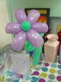 吳國基氣球作品《花朵》