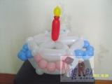 吳國基氣球作品《蛋糕》