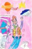 胡程皓繪畫作品《胡迪的太空之旅》