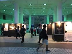 3+3 攝影展在香港科技大學的展覽相片