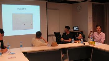 3+3攝影展在香港科技大學的分享會