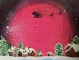 盧佩鏞繪畫作品《夢幻聖誕 -  Fantasy Christmas》