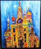 吳瑋呈繪畫作品《俄羅斯皇宮》