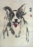 譚敏玲水墨畫作品相片四