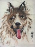 譚敏玲水墨畫作品相片八