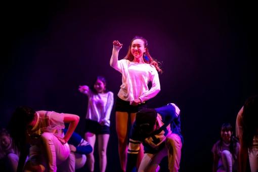 Dance performance of Angel Yam