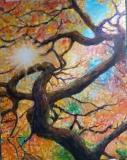 趙惠芝繪畫作品《秋日》