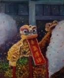 趙惠芝繪畫作品《喜氣洋洋》