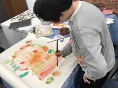 「展藝樂群」繪畫工作坊 (進階60小時) - 名額已滿,多謝支持!