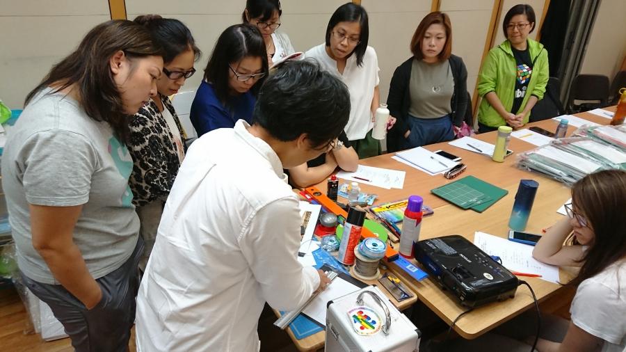 「展藝樂群」導師及支援者培訓工作坊圖片