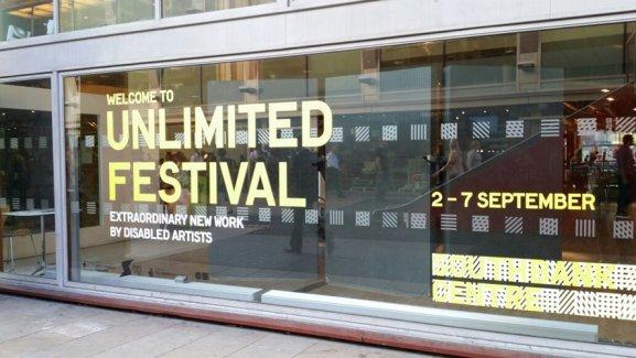 2014 Unlimited Festival展能藝術節在英國倫敦Southbank Centre舉行