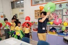 海底生物氣球巡遊