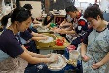 參觀陶藝工作室
