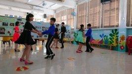 練習拉丁舞