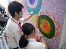 繪畫學校壁畫