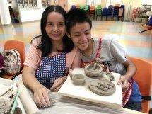 親子陶藝工作坊
