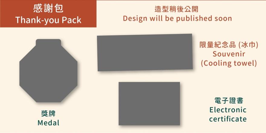 「藝遊.香港」出走感謝包一覽圖