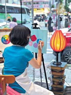 【香港經濟日報】Pacific Coffee × 社企辦Art Jamming 歎住咖啡畫畫